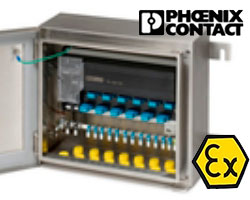 ЕАС Ех-сертификат на компоненты ЦС с технологией Foundation Fieldbus и Profibus от Phoenix Contact